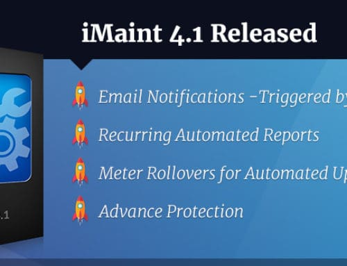 iMaint 4.1 Released