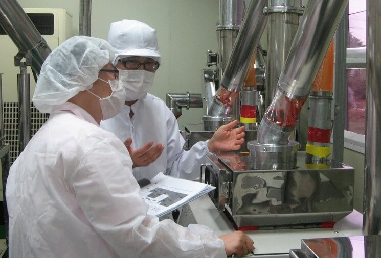 food manufacturing maintenance