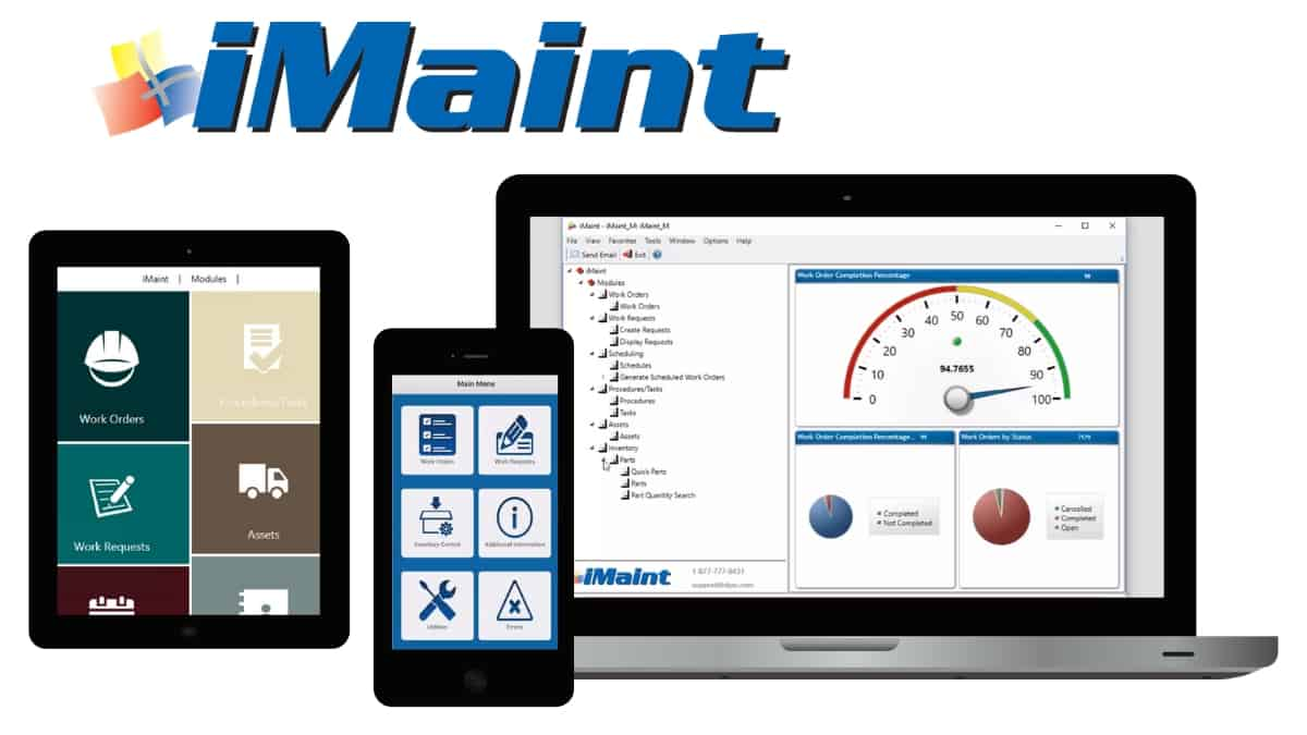 cmms software - iMaint