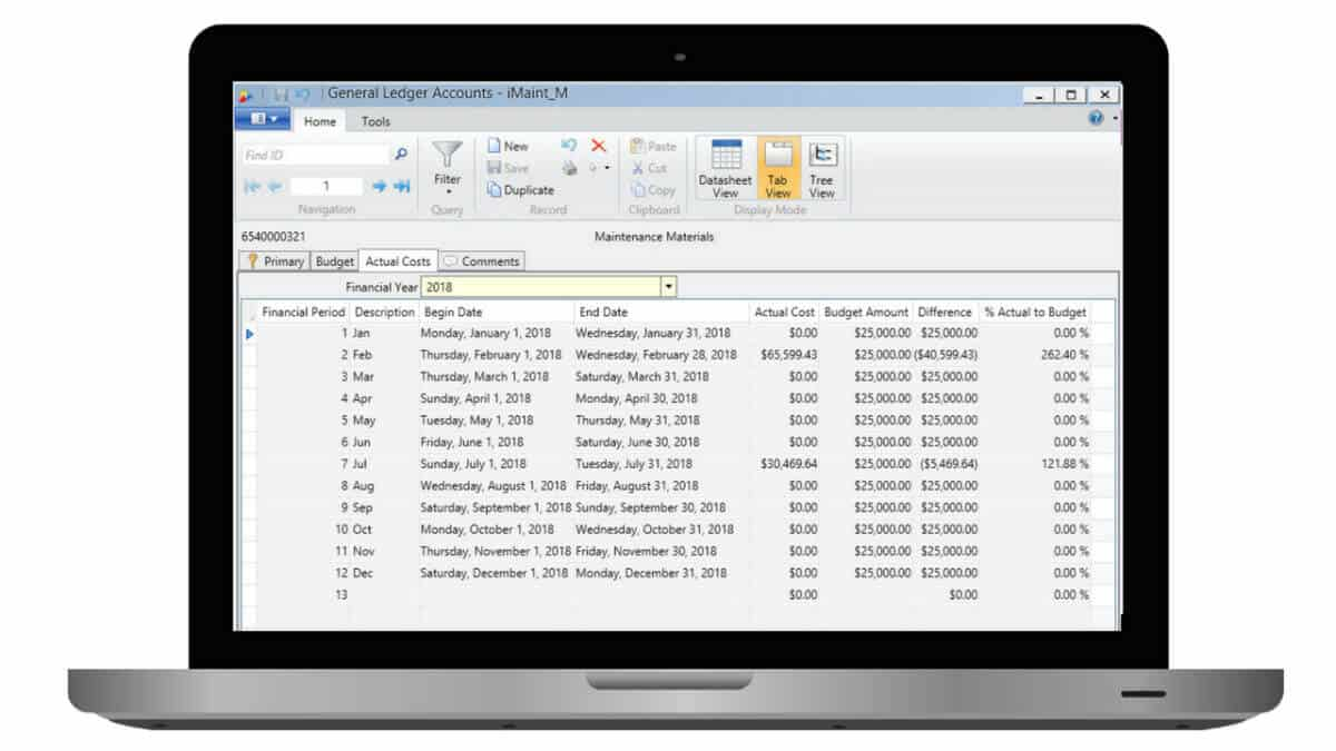 cmms cost tracking
